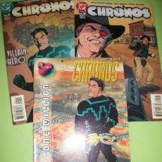 Cómics: LOTE 3 COMICS USA - CHRONOS - DC - #1, #2 Y #1000000 - INGLES. Lote 37082330