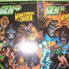 Cómics: LOTE 2 COMICS - GEN 13 - MONKEYMAN AND O'BRIEN - CASTELLANO #1 Y #2. Lote 37082354