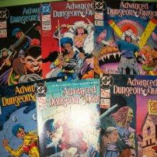 Cómics: LOTE 6 COMICS USA - ADVANCED DUNGEONS & DRAGONS - DC - #8, #9, #12, #15, #23, #36 -. Lote 37092140