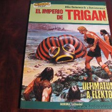 Cómics: EL IMPERIO DE TRIGAN 3.- ULTIMATUM A ELEKTON. Lote 37186795