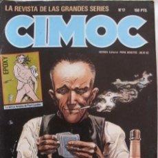 Cómics: CIMOC Nº 17 CON VICENTE SEGRELLES-FONT-BRECCIA-RUBEN PELLEJERO. Lote 37272269