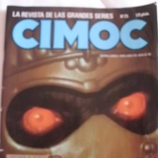 Cómics: CIMOC Nº 25 CON MANFRED SOMMER-FONT-VICENTE SEGRELLES-STORM. Lote 37272457