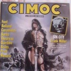 Cómics: CIMOC Nº 143 CON FONT-MANARA-PRATT-FRANK MILLER. Lote 37275703