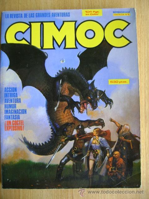 RETAPADO CIMOC FANTASÍA #16: NÚMEROS 56, 57. 58. NORMA (Tebeos y Comics - Norma - Cimoc)