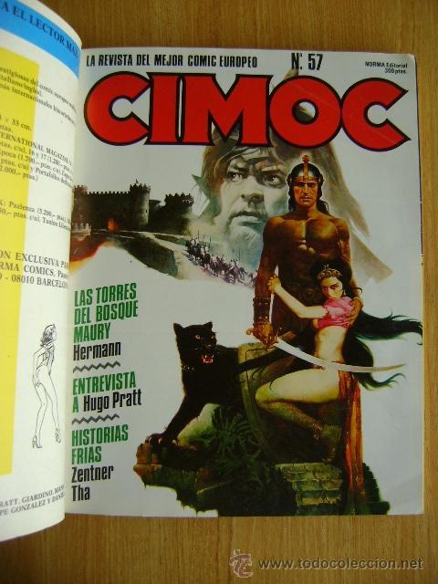Cómics: Retapado Cimoc Fantasía #16: números 56, 57. 58. Norma - Foto 3 - 37553612