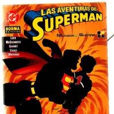 Cómics: LAS AVENTURAS DE SUPERMAN. MUNDOS EN GUERRA. Nº 2 DE 4 (A-COMIC-2906). Lote 37795723