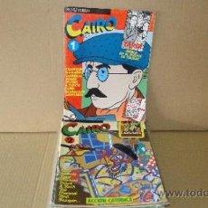 Cómics: LOTE DE 13EJEMPLARES DE . CAIRO. Lote 37883257
