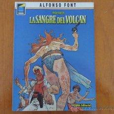 Cómics: ROHNER - LA SANGRE DEL VOLCAN - ALFONSO FONT -COLECCION PANDORA Nº 7 1ª EDICION 1990. Lote 38375933