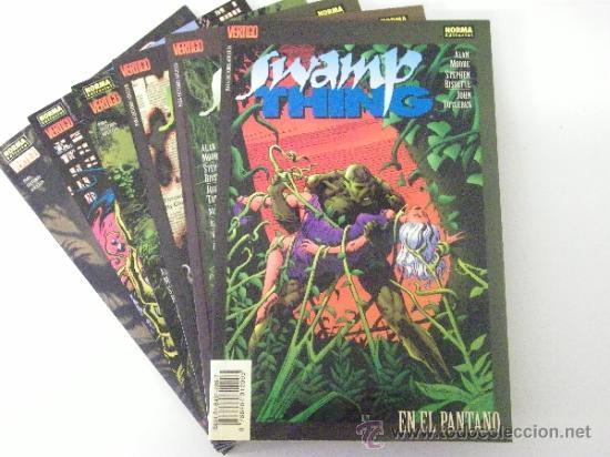LA COSA DEL PANTANO - SWAMP THING - ( NORMA EDITORIAL ) NºS 1 AL 6 COMPLETA ( ALAN MOORE Y OTROS ) (Tebeos y Comics - Norma - Comic USA)