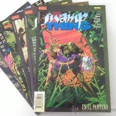 Comics - LA COSA DEL PANTANO - SWAMP THING - ( NORMA EDITORIAL ) NºS 1 AL 6 COMPLETA ( ALAN MOORE Y OTROS ) - 41204541