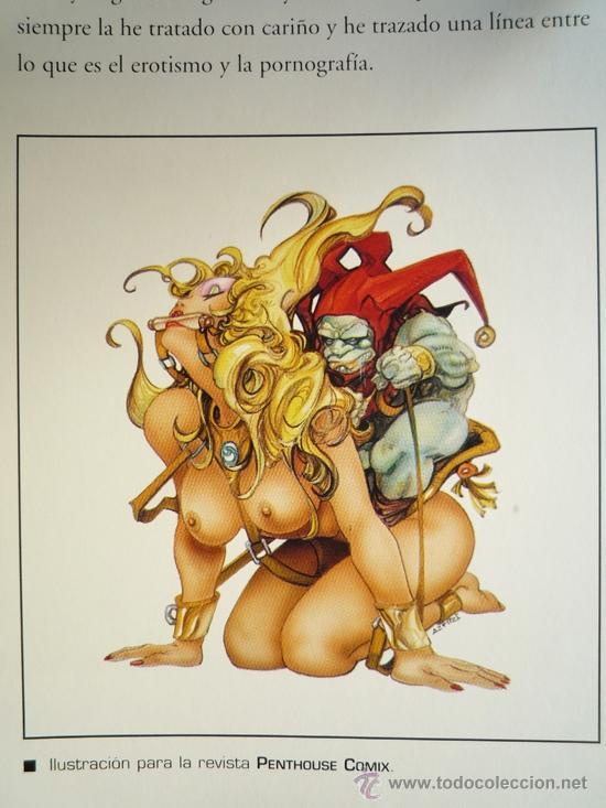 Cómics: SENSATIONS, EL ARTE DE AZPIRI. NORMA. - Foto 2 - 38600132