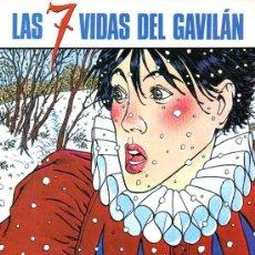 Cómics: LAS 7 VIDAS DEL GAVILAN TOMO 1 (NORMA,1999) - PATRICK COTHIAS - ANDRE JUILLARD. Lote 38642396