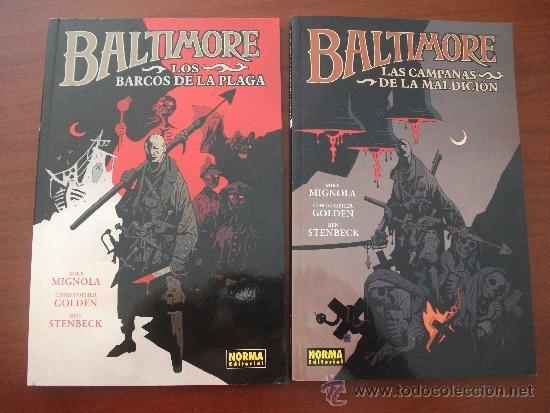 BALTIMORE MIKE MIGNOLA NORMA EDITORIAL (Tebeos y Comics - Norma - Otros)