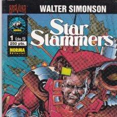 Cómics: STAR SLAMMERS. 1 AL 5. COMPLETA. Lote 39040968