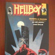 Cómics: HELLBOY DESPIERTA AL DEMONIO NORMA EDITORIAL. Lote 39138334