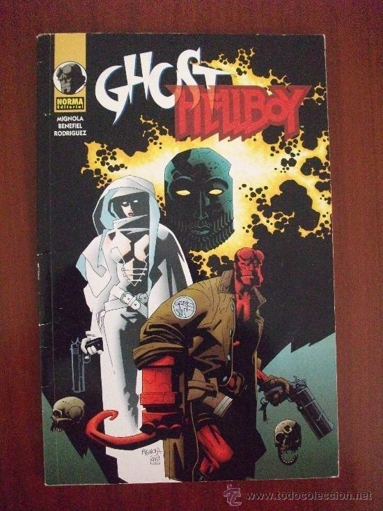 HELLBOY GHOST NORMA EDITORIAL (Tebeos y Comics - Norma - Otros)