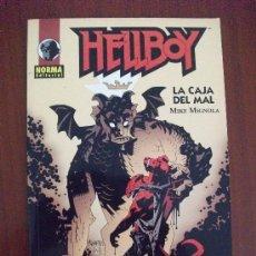 Cómics: HELLBOY LA CAJA DEL MAL NORMA EDITORIAL. Lote 39175443