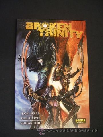 BROKEN TRINITY - RON MARZ - PHIL HESTER - NORMA EDITORIAL - (Tebeos y Comics - Norma - Comic USA)