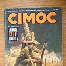 Comics: CIMOC Nº 66 - CONTIENE LA CATEDRAL DE JEAN CLAUDE GAL. Lote 39349460