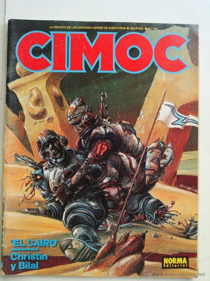 CIMOC Nº 104 - NORMA (Tebeos y Comics - Norma - Cimoc)