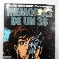 Cómics: MEMORIAS DE UN 38 * EL MURO Nº 18 * NORMA 1991 * DIBUJOS FRANZ. Lote 39503136