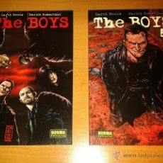 Cómics: PACK THE BOYS 1-2 . GARTH ENNIS Y DARICK ROBERTSON. NORMA EDITORIAL. Lote 39579900