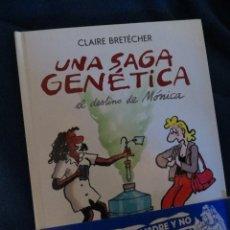 Cómics: UNA SAGA GENETICA.CLAIRE BRETECHER. NORMA. COMIC EUROPEO HUMOR. Lote 39686475