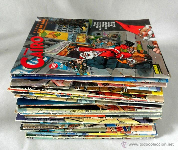 LOTE DE 26 COMICS CAIRO * NORMA (Tebeos y Comics - Norma - Cairo)