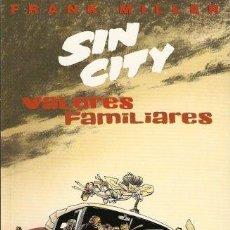 Cómics: VALORES FAMILIARES - SIN CITY - FRANK MILLER - NORMA EDITORIAL 1998. Lote 39976564