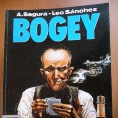 Cómics: BOGEY. A. SEGURA/LEO SÁNCHEZ. COLECC. EL MURO Nº 11. NORMA EDITORIAL. Lote 40040990