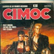 Cómics: CIMOC Nº 60 - ED. NORMA 1985. Lote 40091218