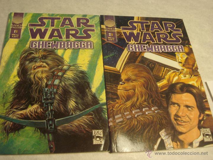 STAR WARS CHEWBACCA COMPLETA (Tebeos y Comics - Norma - Comic USA)