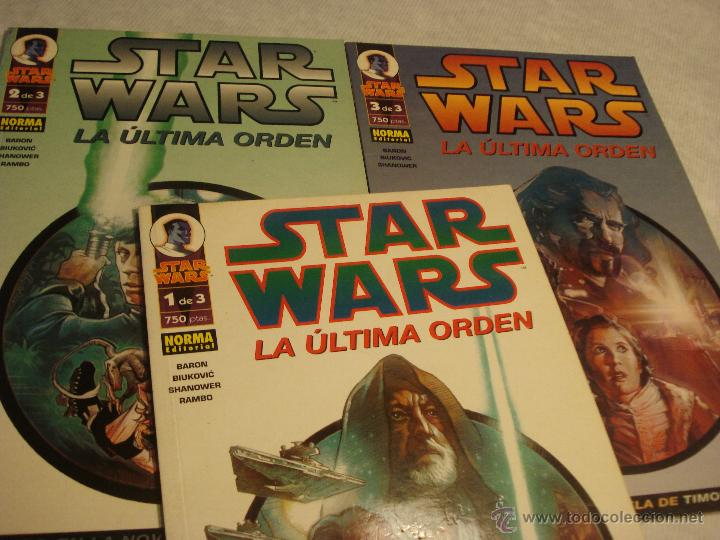 STAR WARS LA ULTIMA ORDEN COMPLETA (Tebeos y Comics - Norma - Comic USA)