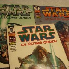 Cómics: STAR WARS LA ULTIMA ORDEN COMPLETA. Lote 40076081
