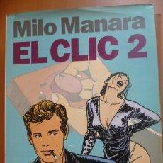Cómics: EL CLIC 2. MILO MANARA. NORMA EDITORIAL. Lote 40209956