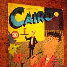 Cómics: CAIRO Nº 20 EDITORIAL NORMA - OCTUBRE 83 -. Lote 40310487