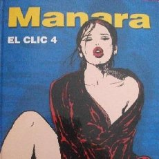 Cómics: MANARA EL CLIC 4 NORMA EDITORIAL. Lote 40317939