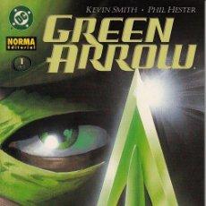 Cómics: GREEN ARROW: CARCAJ # 1 (NORMA,2005) - KEVIN SMITH - PHIL HESTER. Lote 40326601