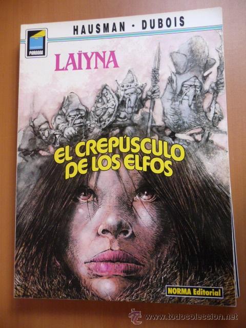 LAYNA. EL CREPÚSCULO DE LOS ELFOS. COLECC. PANDORA Nº 34. NORMA (Tebeos y Comics - Norma - Comic Europeo)