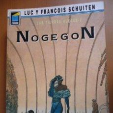 Cómics: NOGEGON. LAS TIERRAS HUECAS 2. LUC Y FRANÇOIS SCHUITEN. COLECC. PANDORA Nº 17. NORMA. Lote 40347293