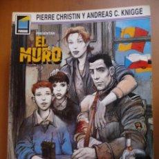 Cómics: EL MURO. COLECCIÓN PANDORA Nº 4. NORMA EDITORIAL. Lote 40347359