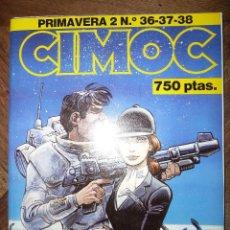 Cómics: CIMOC PRIMAVERA 2 Nº 36-37-38. Lote 40506876