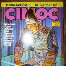 Cómics: CIMOC PRIMAVERA 5 Nº 63-64-65. Lote 40507022