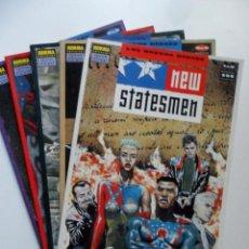 Cómics: NEW STATESMEN (COMPLETO) . JOHN SMITH . JIM BAIKIE. Lote 40631653