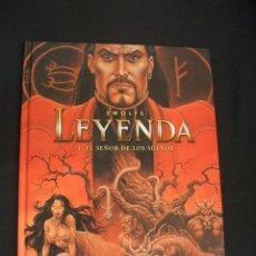 Cómics: LEYENDA - 4. EL SEÑOR DE LOS SUEÑOS - FIRMADO, DEDICADO Y CON DIBUJO ORIGINAL DE SWOLFS - NORMA - . Lote 40643200