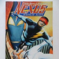 Comics - NEXUS JUSTICIA ALIEN . MIKE BARON . STEVE RUDE - 40663075
