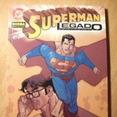 Cómics: SUPERMAN: LEGADO Nº 1 - NORMA. Lote 40697371