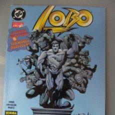 Comics: COLECCION LOBO Nº 17 LA CENA DE DON ALFONZO & LOS HEROES MUERTOS NO. Lote 40761875