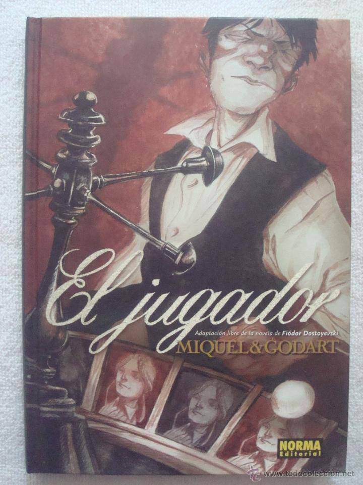 # EL JUGADOR DE FIODOR DOSTOIEVSKI POR STEPHANE MIQUEL Y GODART, NORMA ED. (Tebeos y Comics - Norma - Comic Europeo)