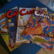 Cómics: COMICS CAIRO - Nº- 24-26-29-52. Lote 48870307